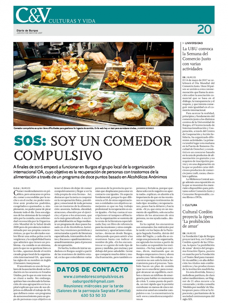 Comedores Compulsivos Anónimos Madrid. Beautiful Comedores ...
